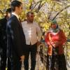 Kale Kaymakamı Mehmet Güder, şehit er Erdal Erdoğan'ın ailesini ziyaret etti