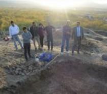 Kale ilçesinde tarihi surlar restore ediliyor