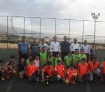 İzollu'da Kur'an Kursları Futbol Turnuvası Sona Erdi