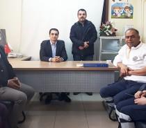 Kale Kaymakamı Mehmet Güder, ilçedeki sağlık çalışanlarını ziyaret etti.