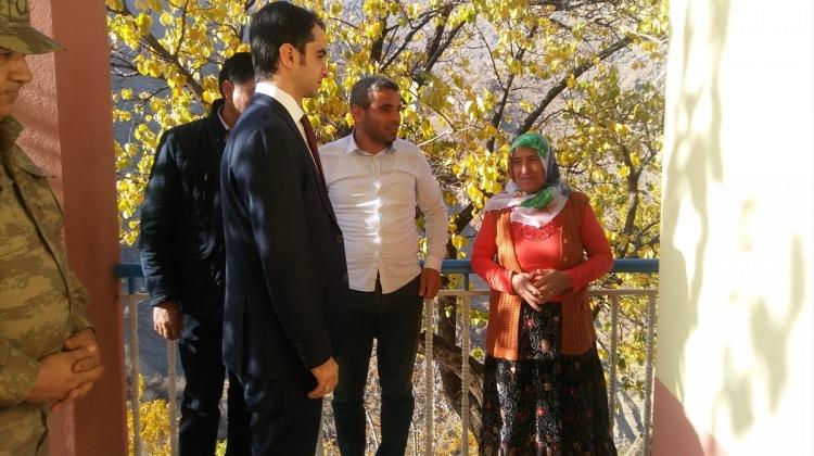 Kale Kaymakamı Güder'den şehit ailesine ziyaret