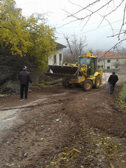 salkımlı asfalt çalışması