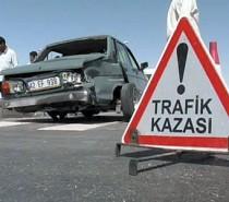 Malatya'nın Kale ilçesinde meydana gelen trafik kazasında 2 kişi yaralandı.